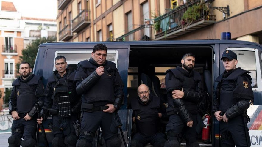 Los 'Antidisturbios' de Movistar+