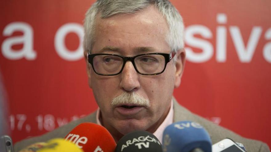 """Toxo (CCOO) critica que el Gobierno identifique empleo estable con """"privilegios"""""""