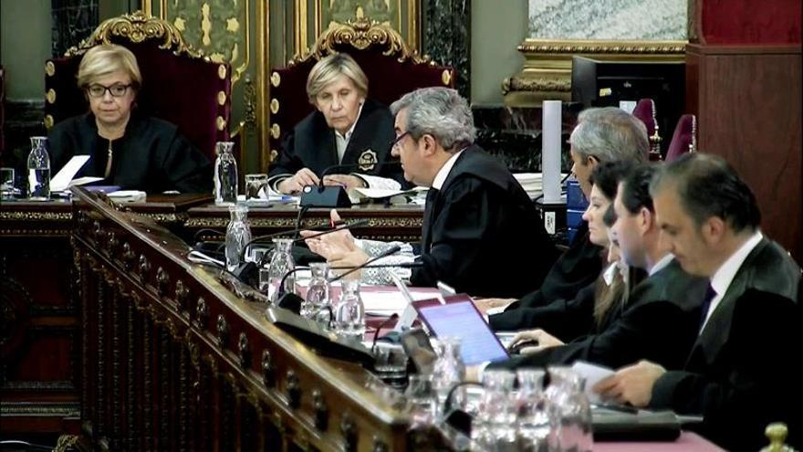 El fiscal Zaragoza, en su intervención
