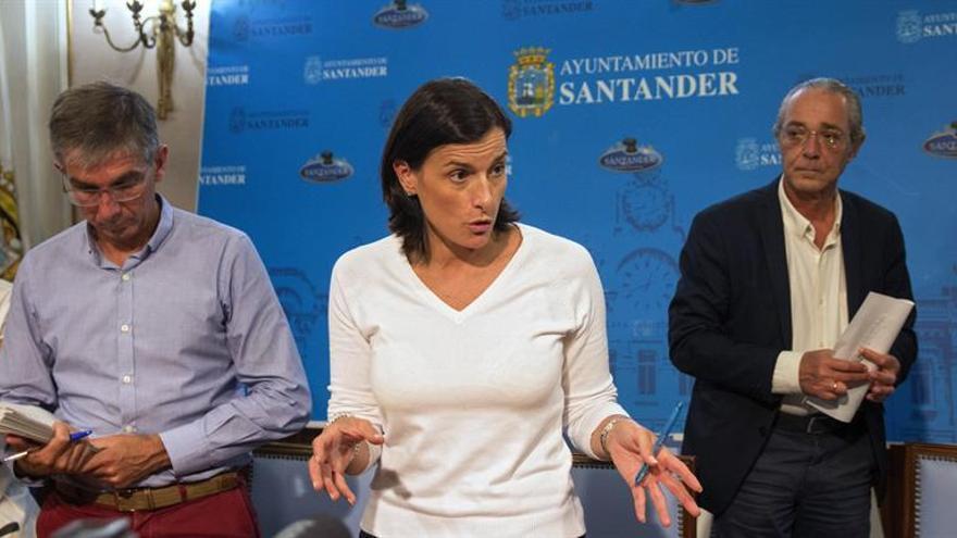 Alcaldesa de Santander dice que habrá responsabilidades por caída de edificio