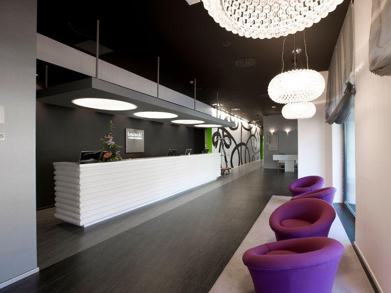 Recepción del Hotel Barceló Castellana Norte