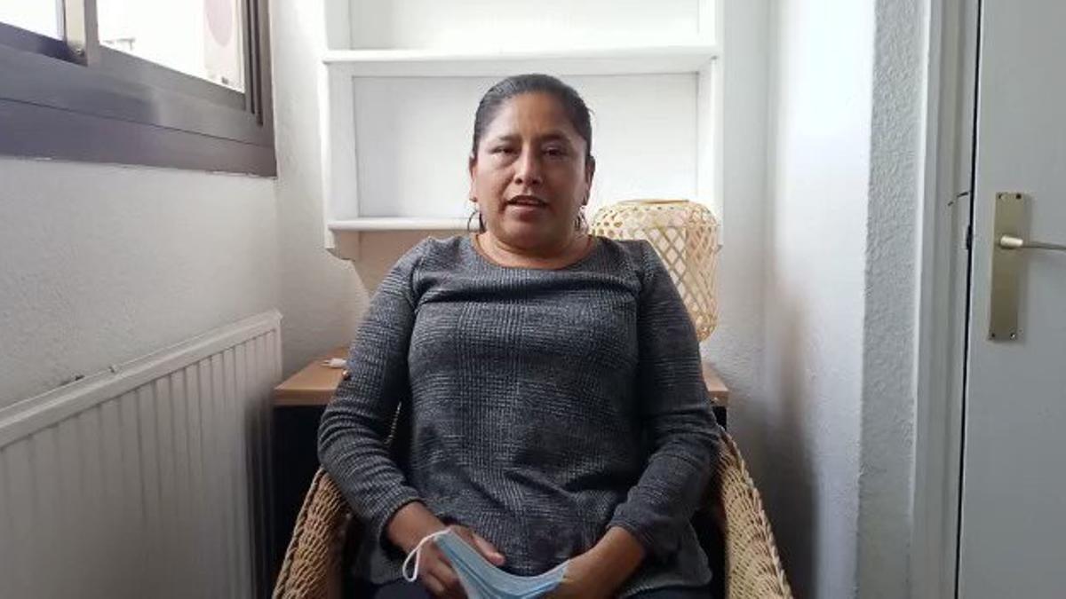 Leiria Vay García, activista e integrante de Codeca