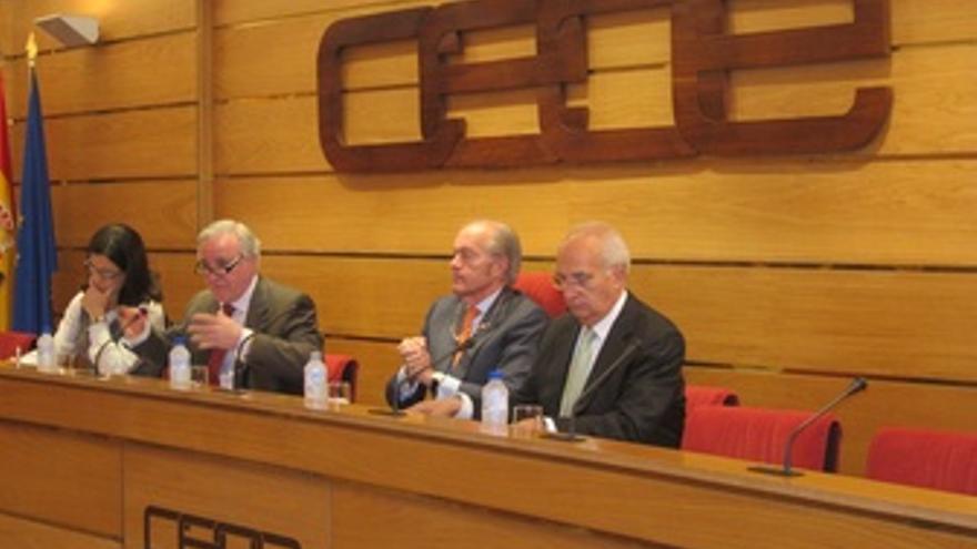 El Secretario General De Infraestructuras, Gonzalo Ferre, En La CEOE