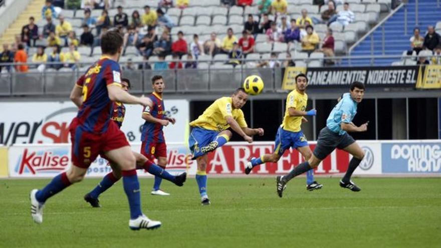 Del UD Las Palmas-Barcelona B #9