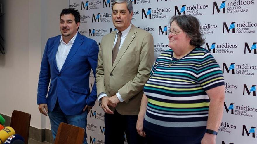 Pedro Cabrera fue reelegido presidente del Colegio de Médicos de Las Palmas