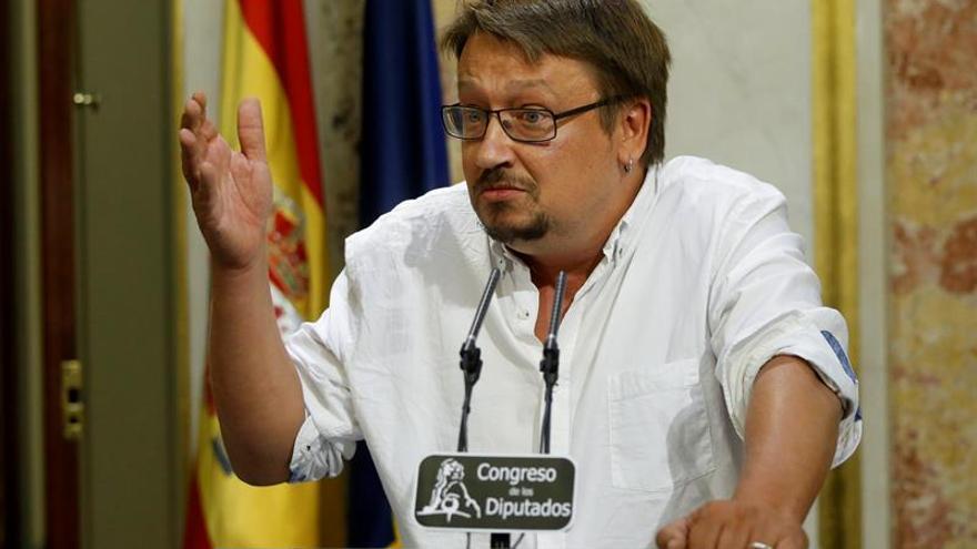 """Domènech admite que se aleja la opción de construir una """"alternativa"""" a Rajoy"""