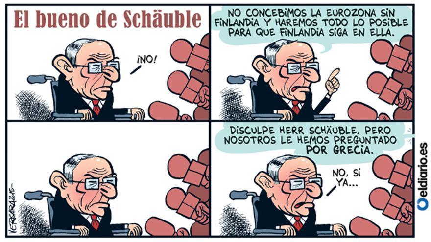El bueno de Schäuble