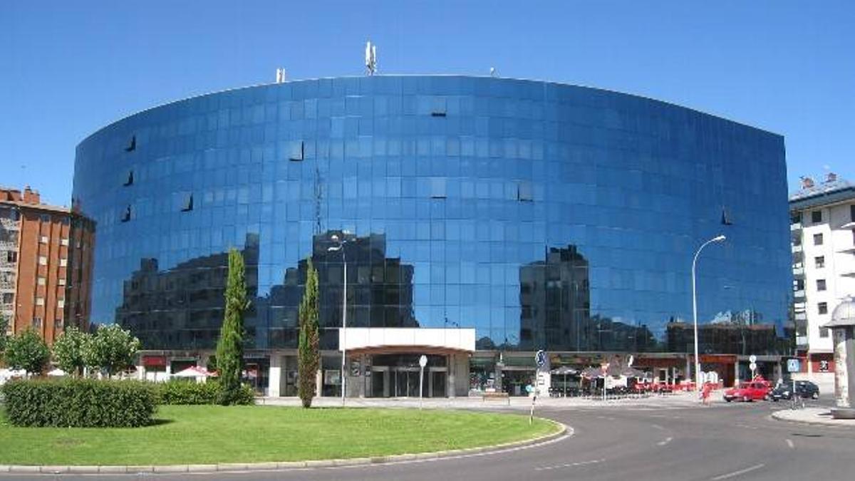 Edificio Europa, donde se encuentra la sede de Trascom.