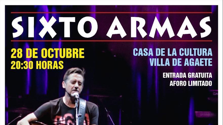 Sixto Armas ofrece un concierto contra la pobreza en Agaete
