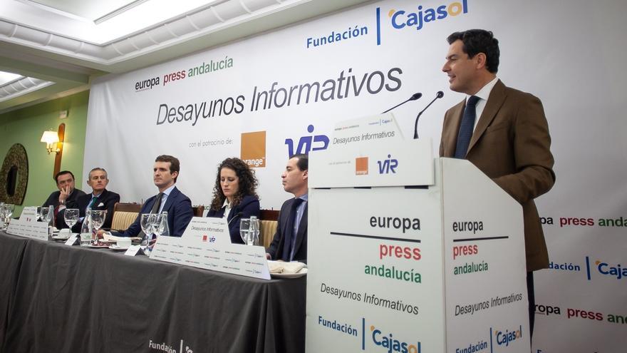 """Juanma Moreno asegura que Jaén tiene """"un futuro muy esperanzador de la mano del PP"""""""