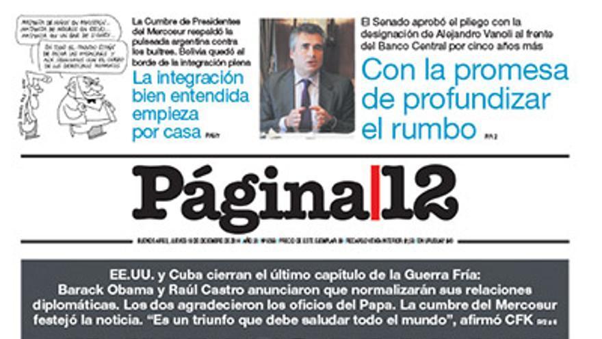 Página 12 (Argentina).