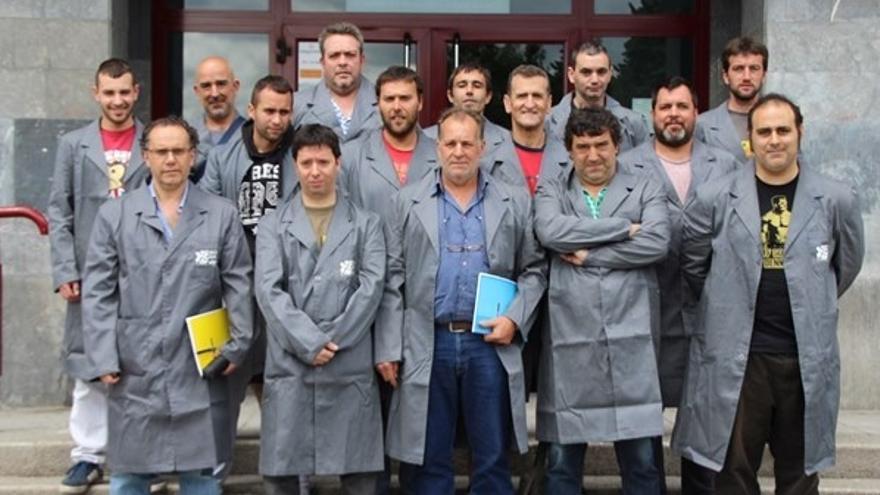 Desempleados de Muskiz y Abanto-Zierbena se forman para trabajar en la parada de Petronor