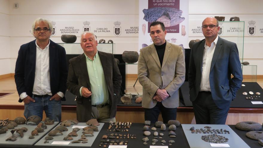 En la imagen, acto institucional celebrado en el Museo Arqueológico.