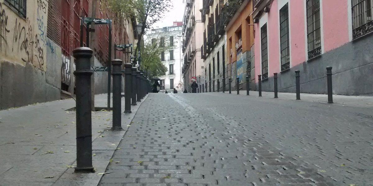 Calle San Andrés, subiendo desde el Dos de Mayo | SOMOS MALASAÑA