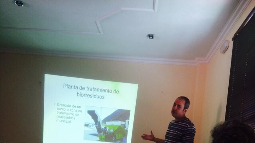 Charla sobre agroecología en Vallehermoso