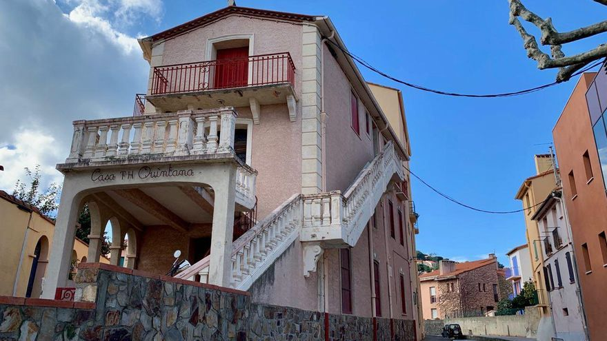 La Casa T.H. Quintana, el albergue donde se alojó Machado las últimas semanas de su vida
