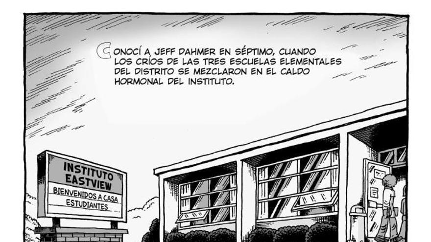 """""""Mi amigo Dahmer"""", el cómic que analiza la juventud del """"asesino de Milwaukee"""""""