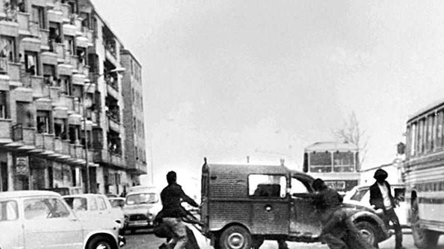 Fotografía tomada el 3 de marzo de 1976 en Vitoria