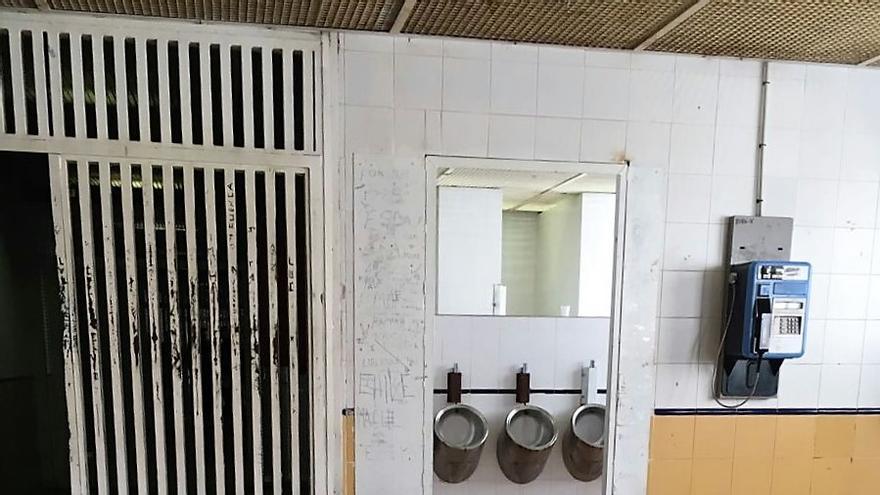 Imagen cedida del interior del CIE de Aluche.