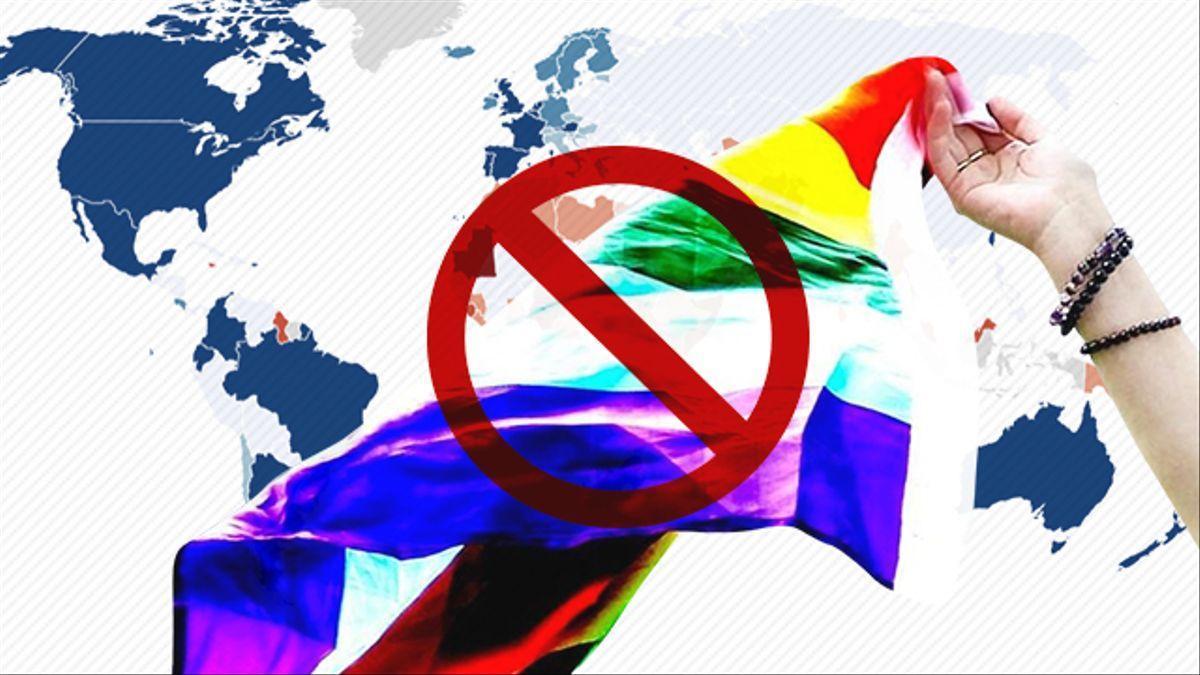Son 69 los países en el mundo que tienen leyes que criminalizan las relaciones entre personas del mismo sexo