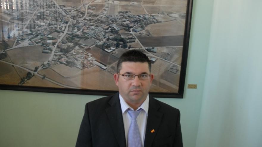 José María Sáiz, alcalde de Villar de Cañas (Cuenca)