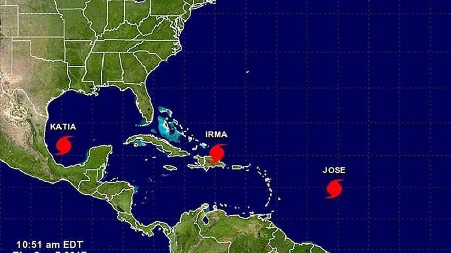 El Caribe espera al huracán José tras el destructivo paso del ciclón Irma