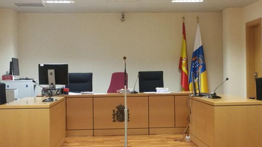 Imagen de archivo del Juzgado de lo Penal número 7 de Santa Cruz de La Palma.
