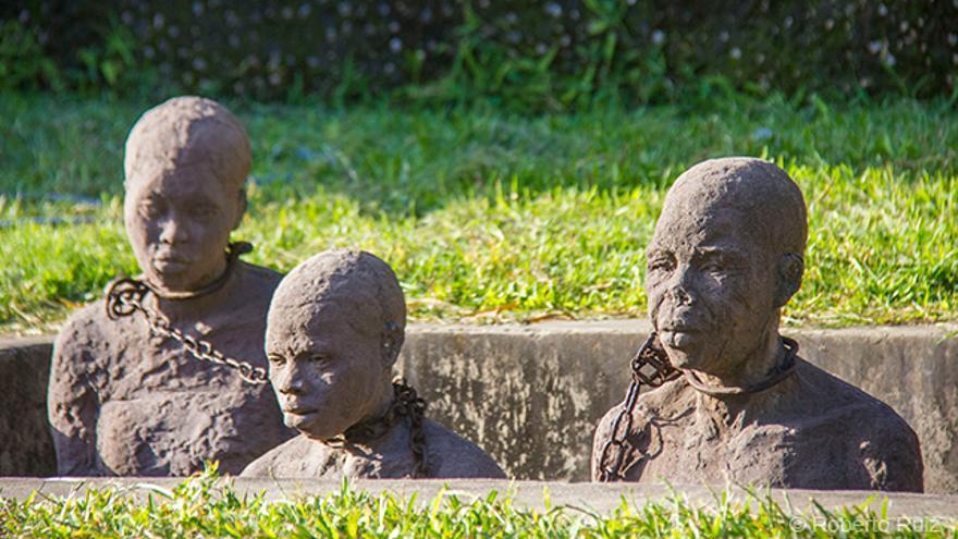 El Museo de la Esclavitud de Zanzibar se levanta donde antes estaba el mercado de esclavos de la ciudad.