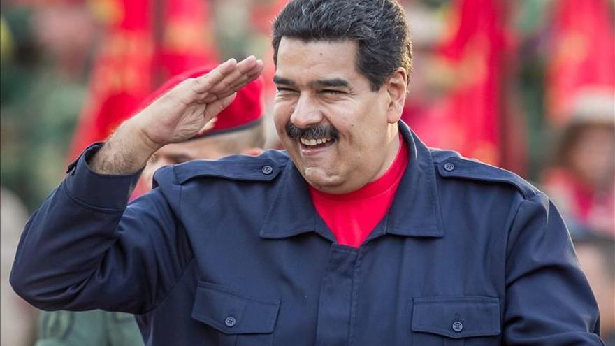 """Maduro dice que su Gobierno ha logrado un diálogo con EE.UU. que """"va bien"""""""
