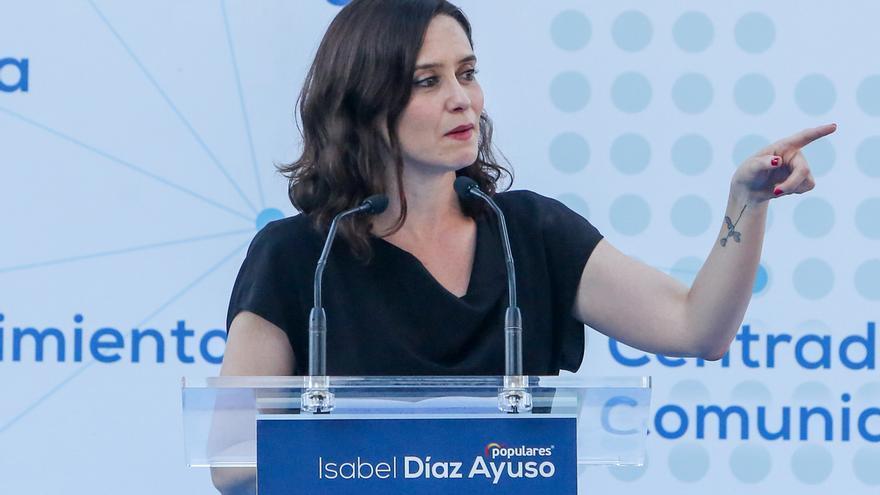 """Ayuso cree que Más Madrid y Podemos han abandonado Nuevo Norte para """"no verse perjudicados electoralmente"""""""