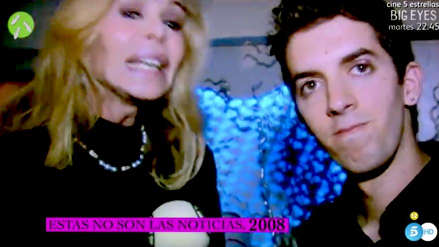 David Broncano entrevista a Bibiana Fernández en 2008