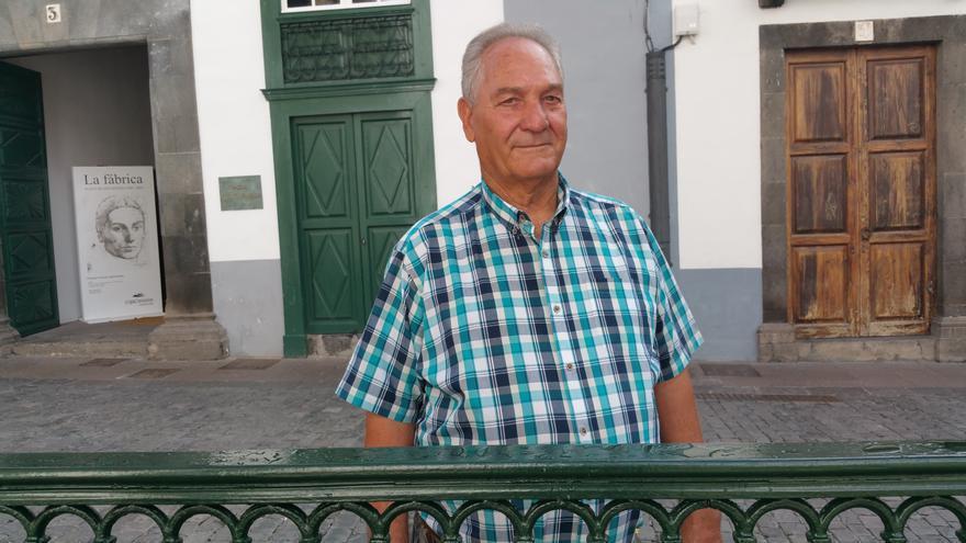 Jaime Medina es presidente de la Federación Insular de Mayores. Foto: LUZ RODRÍGUEZ.