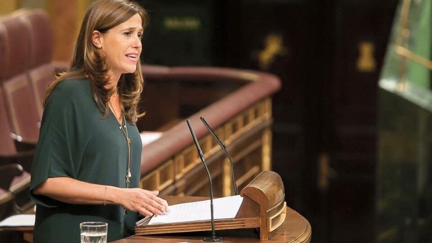 Rosa Romero en el Congreso de los Diputados