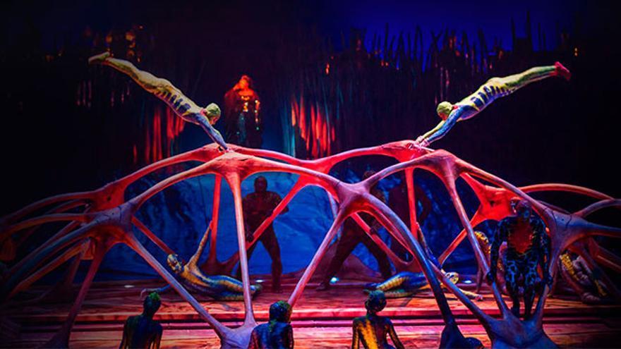 Entradas para el Cirque du Soleil, desde 28 euros.