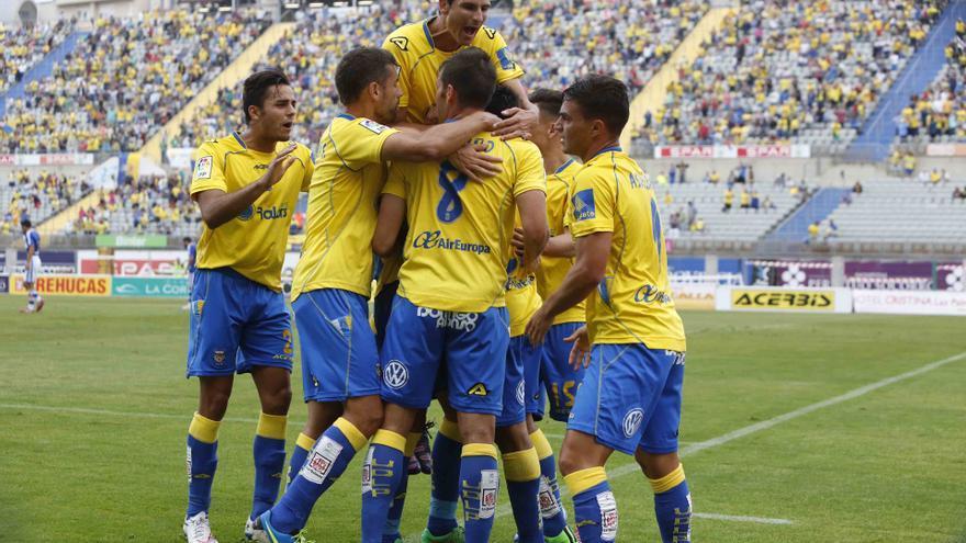 La UD Las Palmas gana por 3-0 al Recreativo de Huelva. Foto: Udlaspalmas.es Carlos Díaz Recio