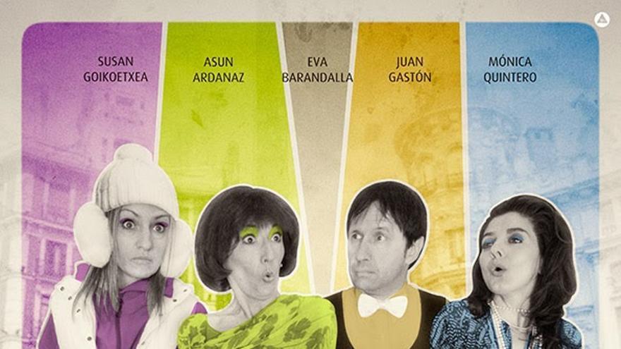 Cartel de la obra 'Comedia con recortes', de la compañía Bubulú / Foto: cedida.
