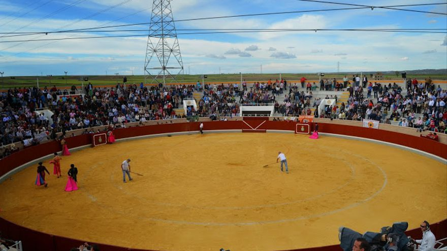 Plaza de toros de Villaseca de la Sagra (Toledo) / Foto: prensataurina.com