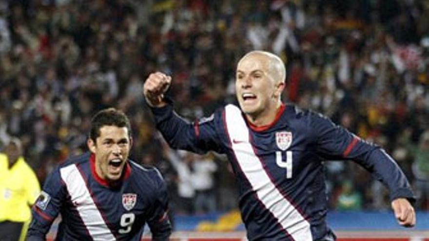 Bradley celebra el empate a dos. (REUTERS)