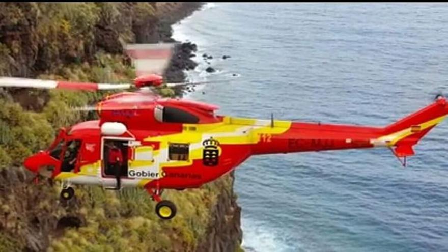 Rescatados tres senderistas extranjeros con hipotermia en Gran Canaria.