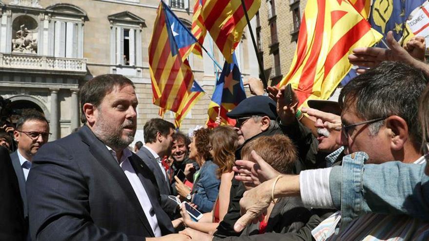 Junqueras llama a votar para salvar los derechos y acusa al PSOE de reforzar al PP