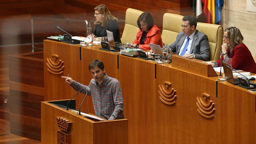 Alvaro Jaen Podemos Extremadura