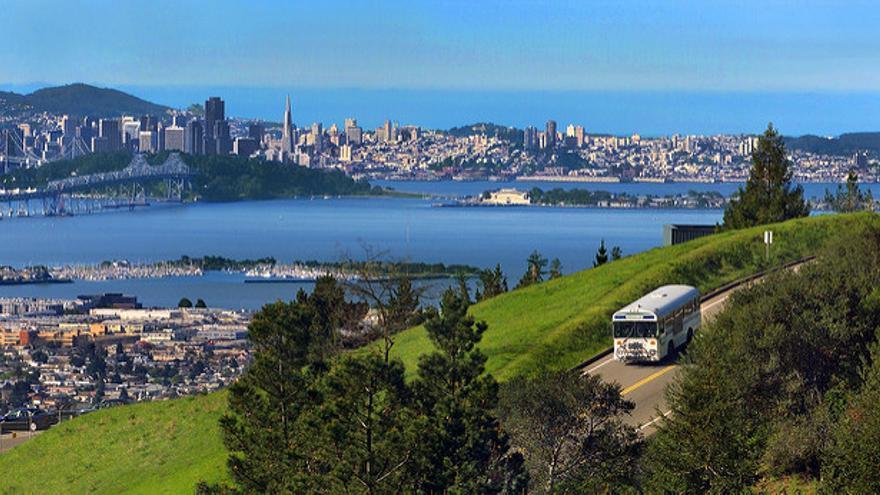 Las vistas que Soledad tiene desde su laboratorio (Imagen: Berkeley Lab | Flickr)