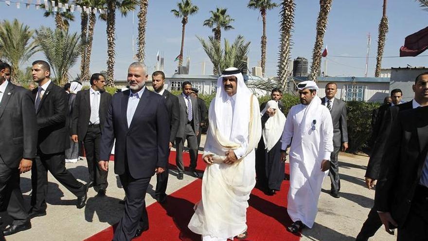 Gaza teme que la crisis del Golfo limite la asistencia financiera de Catar