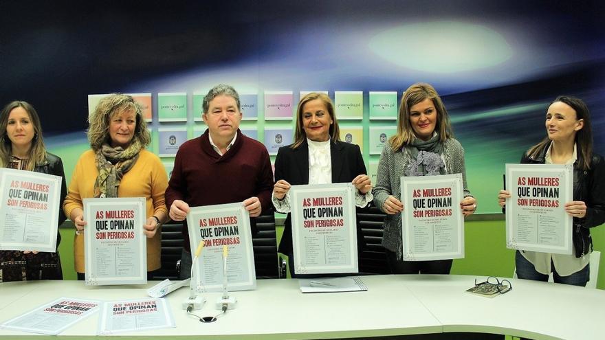 Presentación del foro en el Concello de Pontevedra