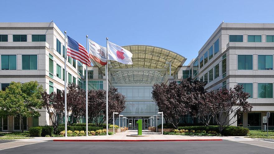 Los cuarteles generales de Apple en Cupertino