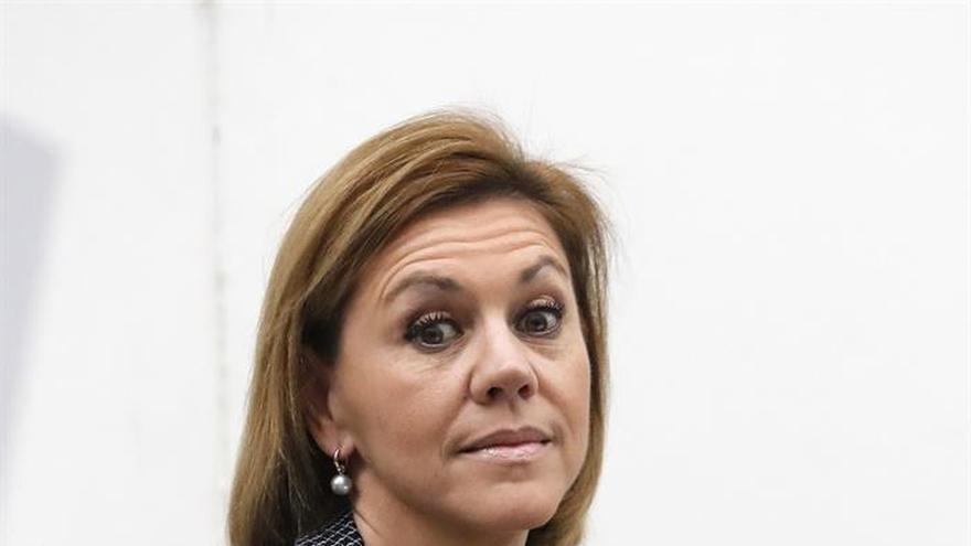 """Cospedal pide prudencia sobre caso Palau y que jueces actúen """"sin presión"""""""