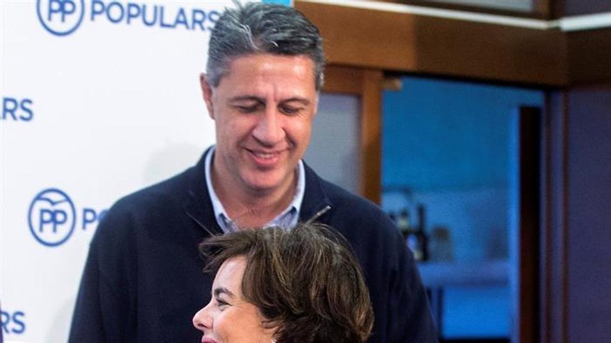 """Sáenz de Santamaría pide el voto para el PP para acabar de """"liquidar"""" al independentismo"""