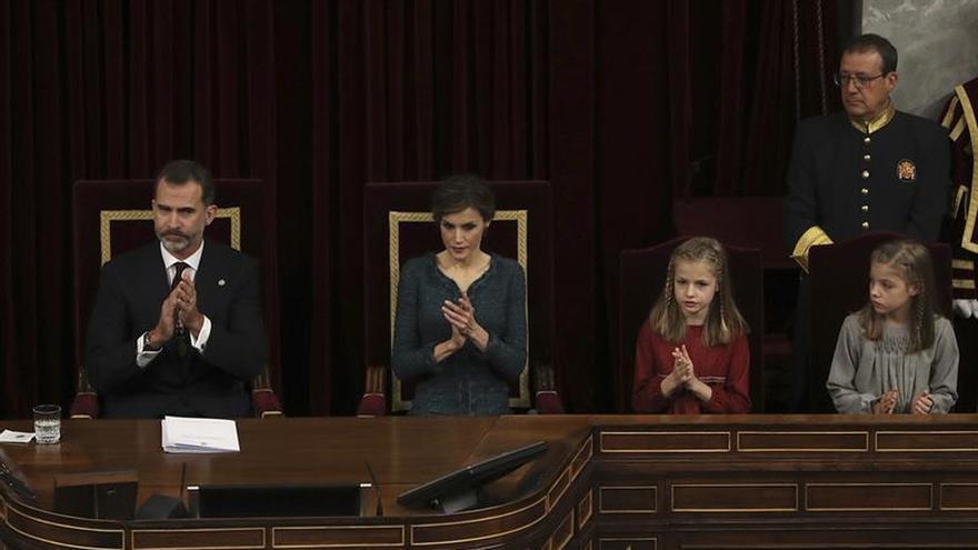 """El Rey dice que """"España no puede negarse a sí misma tal y como es"""""""