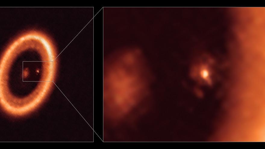Detectado un disco que ayudará a estudiar la formación de lunas y planetas