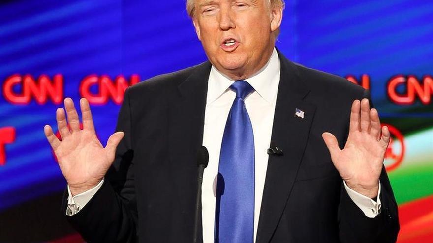Trump se lleva la victoria en las primarias republicanas de Massachusetts